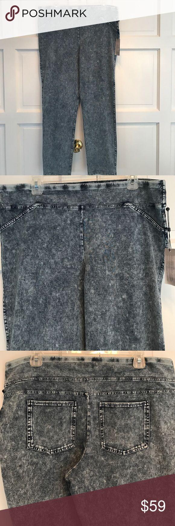 Tommy Hilfiger Denim Stretch Pants. Size XL Never worn. Still has tags. 90% cotton 10% elastic. Very soft. Tommy Hilfiger Pants