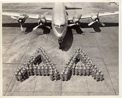AA Class of 1953. Very cool picture! This photo was taken from: American Airlines 707 Jet Stewardess