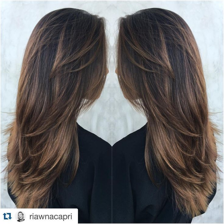 """Vanessa Lachey on Instagram: """"Yummy new color & cut! We shall call it #VelvetCocoa Thanks Ri!!!! #Repost @riawnacapri ・・・ Who down for a little #VelvetCocoa for fall? The miss @vanessalachey is ❤️❤️ #changewiththeseasons #901girl"""""""