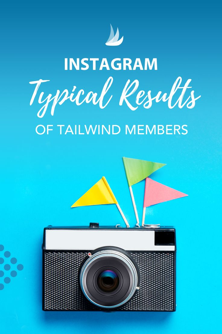 Learn how much faster Tailwind members grew than those who signed up for a free trial and never upgraded.  These are the typical results of Tailwind for Instagram members