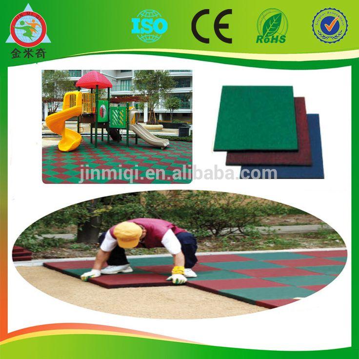 2014 rubber mat,outdoor rubber flooring,outdoor playground safety flooring tiles