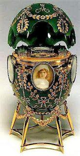 Fabergé Imperial Egg - Alexander Palace Egg,1908
