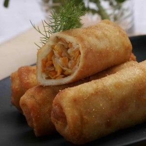 Rissoles - Indonesian Roll Snacks with Chicken Ragout