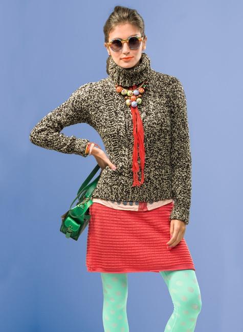SYBILLA Sweater Cuello: Colores pasteles, colores fuertes y accesorios. ¿Te atreves?