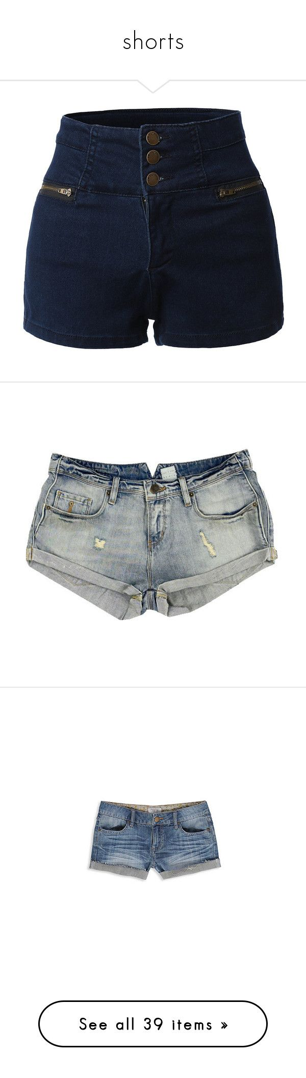 """""""shorts"""" by willfongdanielle ❤ liked on Polyvore featuring shorts, bottoms, high waist, short, stretch denim shorts, denim short shorts, high waisted short shorts, high rise jean shorts, high-waisted denim shorts and pants"""