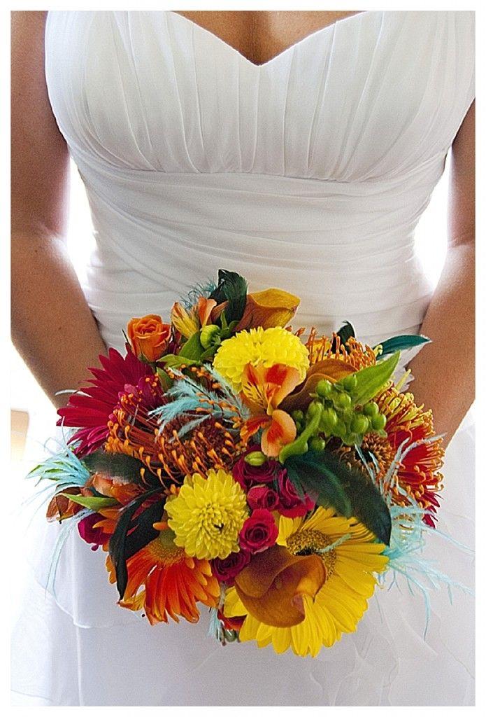 A Colourful & Cute Fiesta Wedding