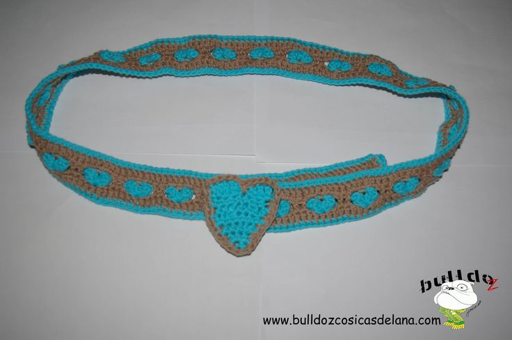 Cinturón DIY by BulldoZ https://www.facebook.com/pages/BulldoZ-Cosicas-de-lana/397416290341779?sk=app_305927716147259