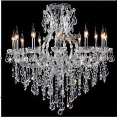 [ $57 OFF ] New Design Candle Chandelier Crystal Lighting Fixture Maria Theresa Incandescent Luminaire Lustres Pendentes Hotel, Meeting