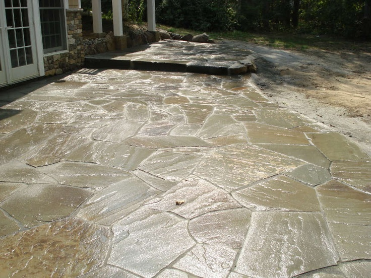 17 best ideas about how to lay flagstone on pinterest. Black Bedroom Furniture Sets. Home Design Ideas