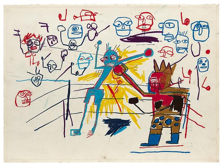 Jean Michel Basquiat S Crown Ring