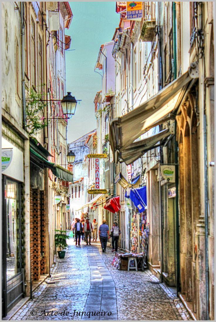 A Coimbra Street by Arte-de-Junqueiro , Portugal