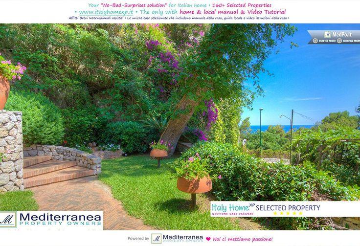 Seaview luxury caprese villa with garden,... - HomeAway Marina Piccola