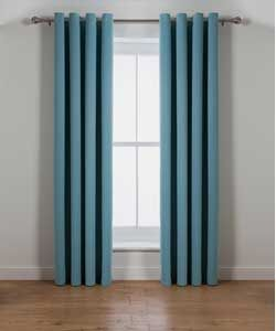 Twilight Blackout Curtains - 117 x 183cm - Duck Egg.