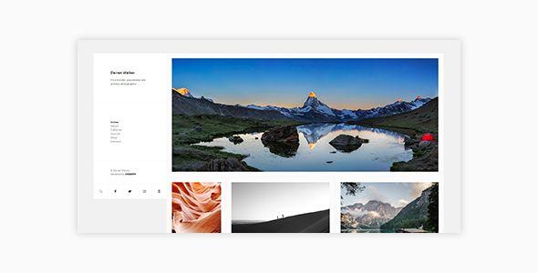 Darren - Photography & WooCommerce Compatible WordPress Theme