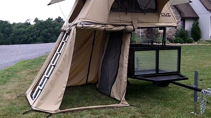 New CVT roof top tent walk around