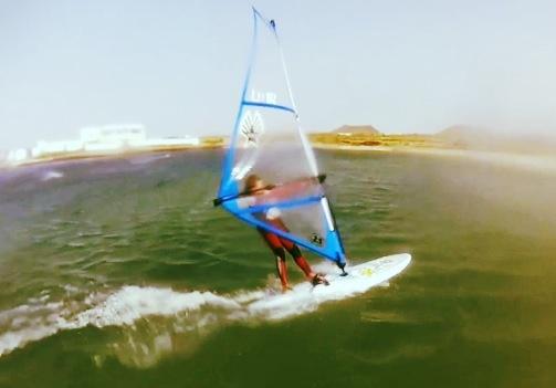 Leon windsurfing team rider