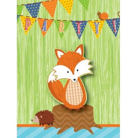 Forest Fox Invitations