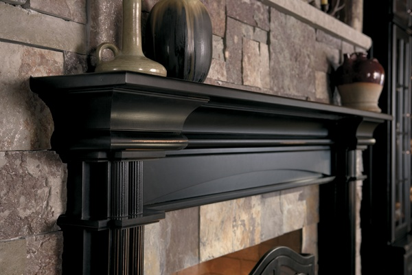 21 best mantels and fireplace surrounds images on pinterest mantles fireplace surrounds and. Black Bedroom Furniture Sets. Home Design Ideas