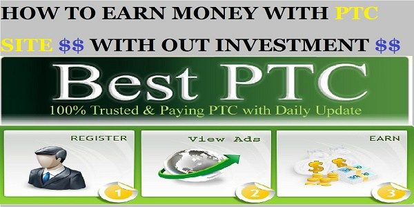 Earn Money with PTC Sites for free