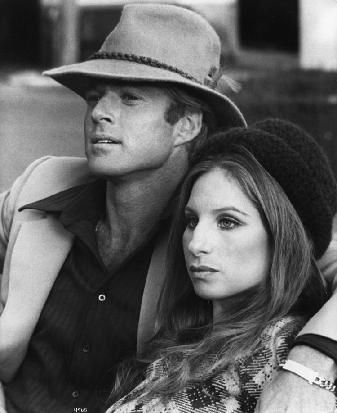 Barbra Streisand and Robert Redford in The Way We Were, 1973