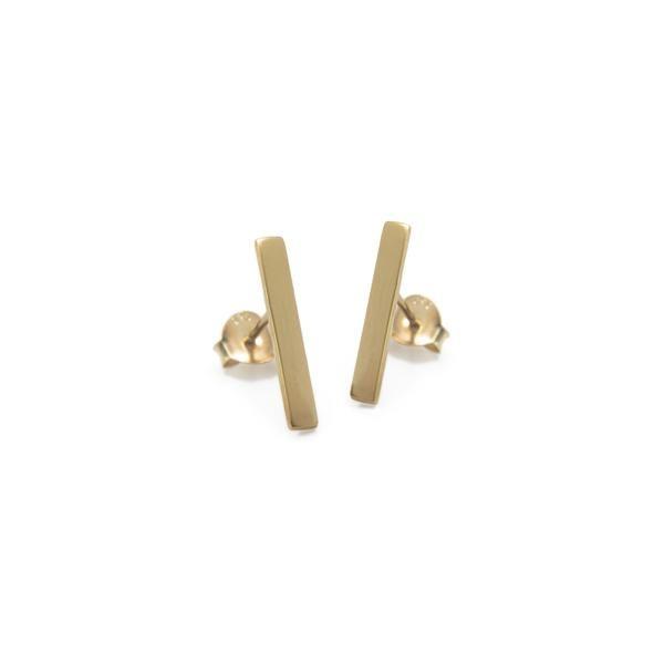 Bar Stud Earring
