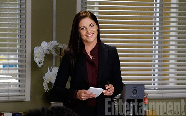 Marika Dominczyk will make her Grey's Anatomy debut in the upcoming Nov. 3 episode — and EW has the exclusive first look.
