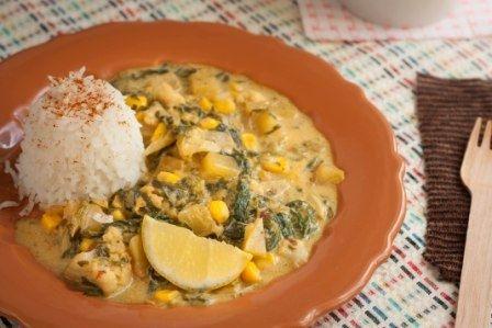 Тайское Кокосовое Карри с Рисом Басмати | vegelicacy.com - вегетарианские рецепты