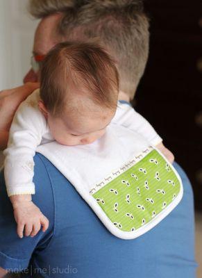 授乳後に肩に乗せる「ゲップ布」の手作り☆お友達への出産祝いにもぴったり   CRASIA(クラシア)