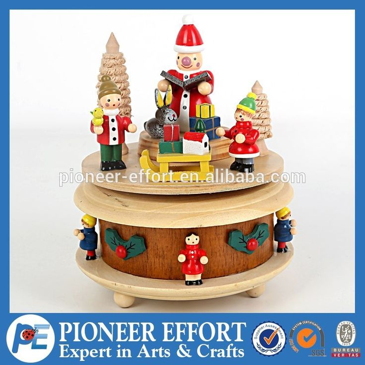 christmas wooden music box, snowman cedar sled decorated music box for X'mas gift, View handmade christmas wooden music box, PE Product Details from Shanghai Pioneer Effort Arts & Crafts Company Limited on Alibaba.com
