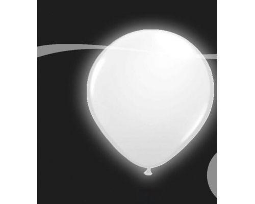 ballons lumineux blanc x5 - Lacher De Ballon Lumineux Mariage
