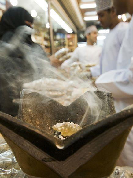 Frankincense, souk Salalah  credit: National Geography