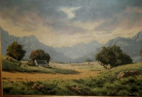 Paul Munro painting
