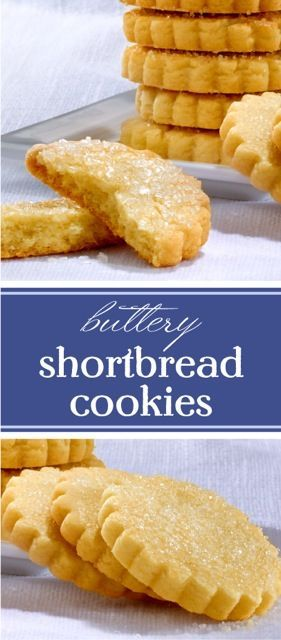This Buttery Shortbread Cookie Recipe calls for just three ingredients - including Finlandia Imported Butter, which make these cookies mouthwatering & flavorful!