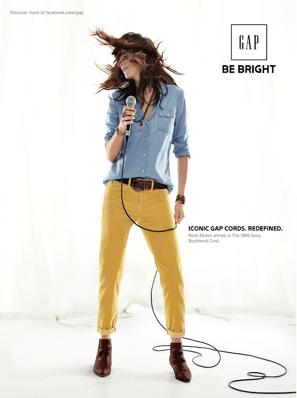 Tomboy Style: MOMENT | Gap's Fall 'Icons Redefined' Campaign