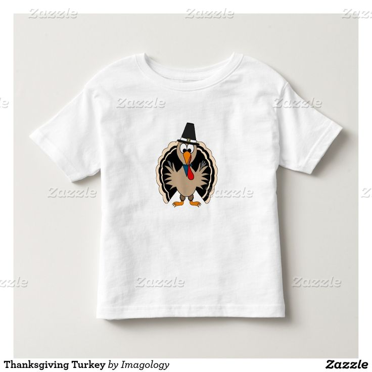 Thanksgiving Turkey Toddler T-shirt