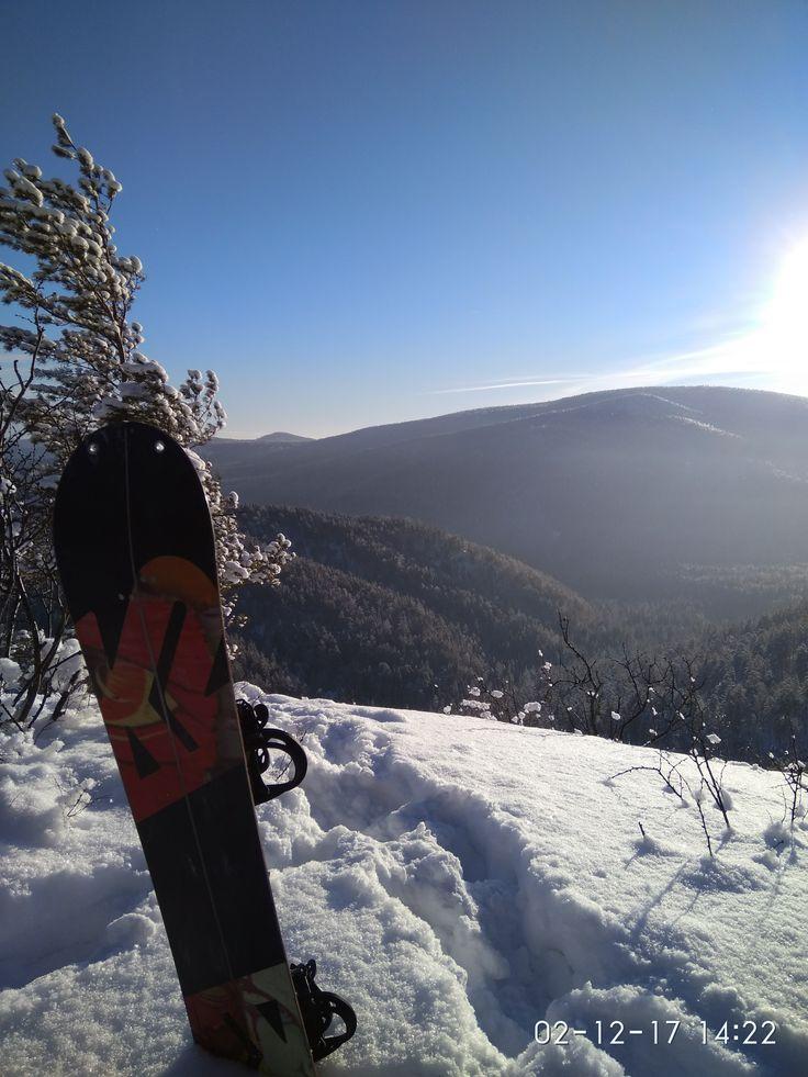 Скалы Веера. Вид с Горы Витязь.