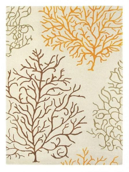The Sanderson Coral Amber Modern Designer Wool & Viscose Rug is a lovely wool rug with viscose highlights. This beautiful design is available in the following standard sizes: 200 x 140cm $1297.99 240 x 170cm $1797.99 280 x 200cm $2897.99