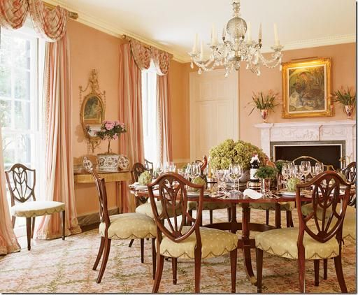 17 Best Ideas About Pink Dining Rooms On Pinterest Dining Room Drapes Beautiful Dining Rooms
