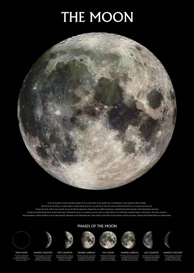 #Pyramid The Moon Maxi Poster #A maxi poster of the moon. (Barcode EAN=5028486167999)