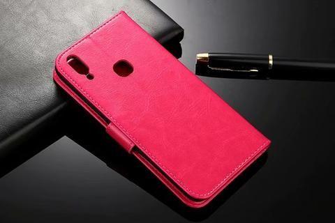 Luxury Leather Wallet Flip Case For Huawei P20 Lite Nova 3