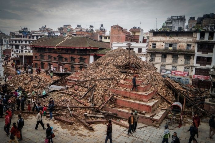 Kathmandu, Nepal, before and after the earthquake – in pictures | World news | The Guardian