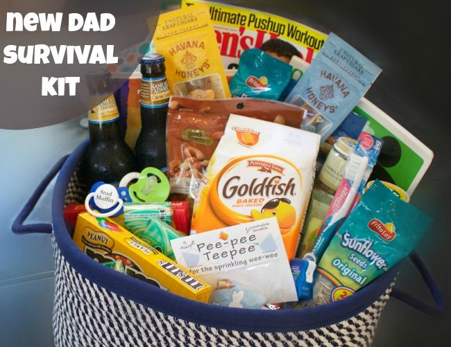 Everything you need to put together a New Dad Survival Kit for any newbie Father! #havanahoneys #Pmedia #ad