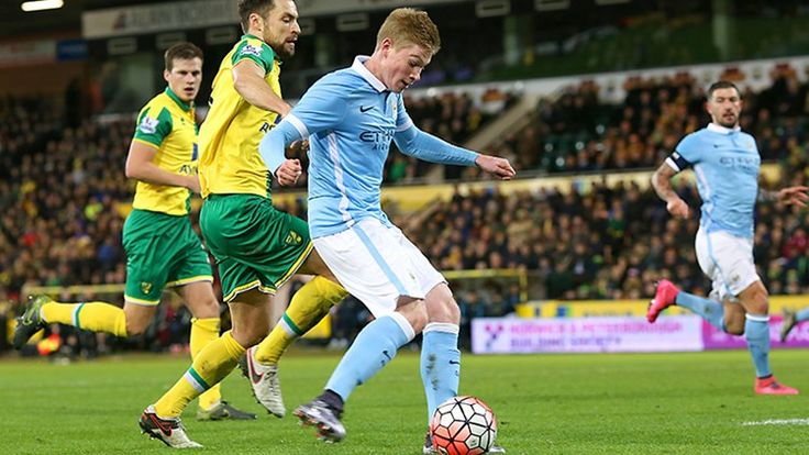 KDB bossing the game against Norwich City