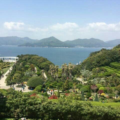 Oedo Botania, Geoje, Korea