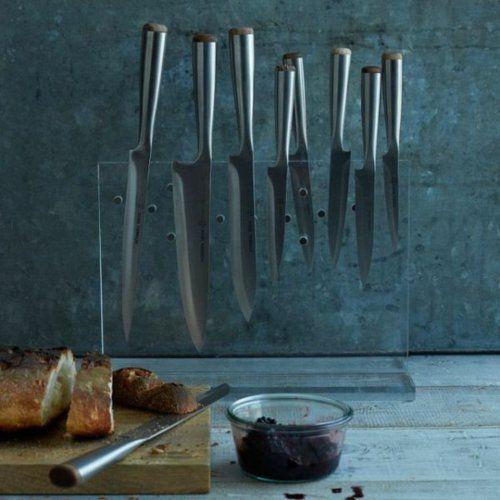 Messerblock für Küchenmesser - Ordnen Sie Ihr Messerset mit Stil an!