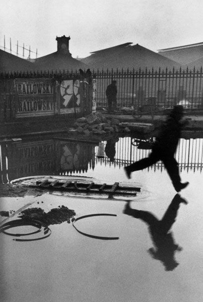 Henri Cartier-Bresson  Image analysis image for the Rule of Thirds.