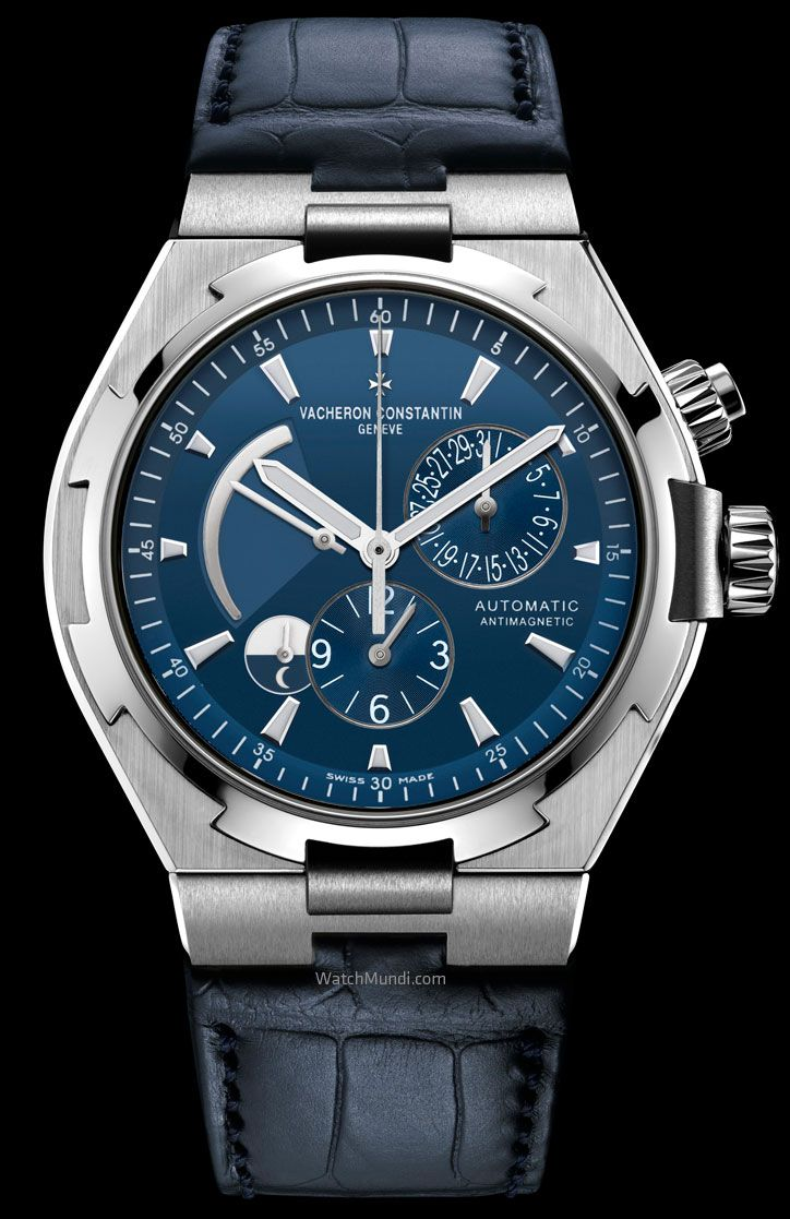 Vacheron Constantin – Overseas Ultramarine Blue Limited Edition - Dual Time.