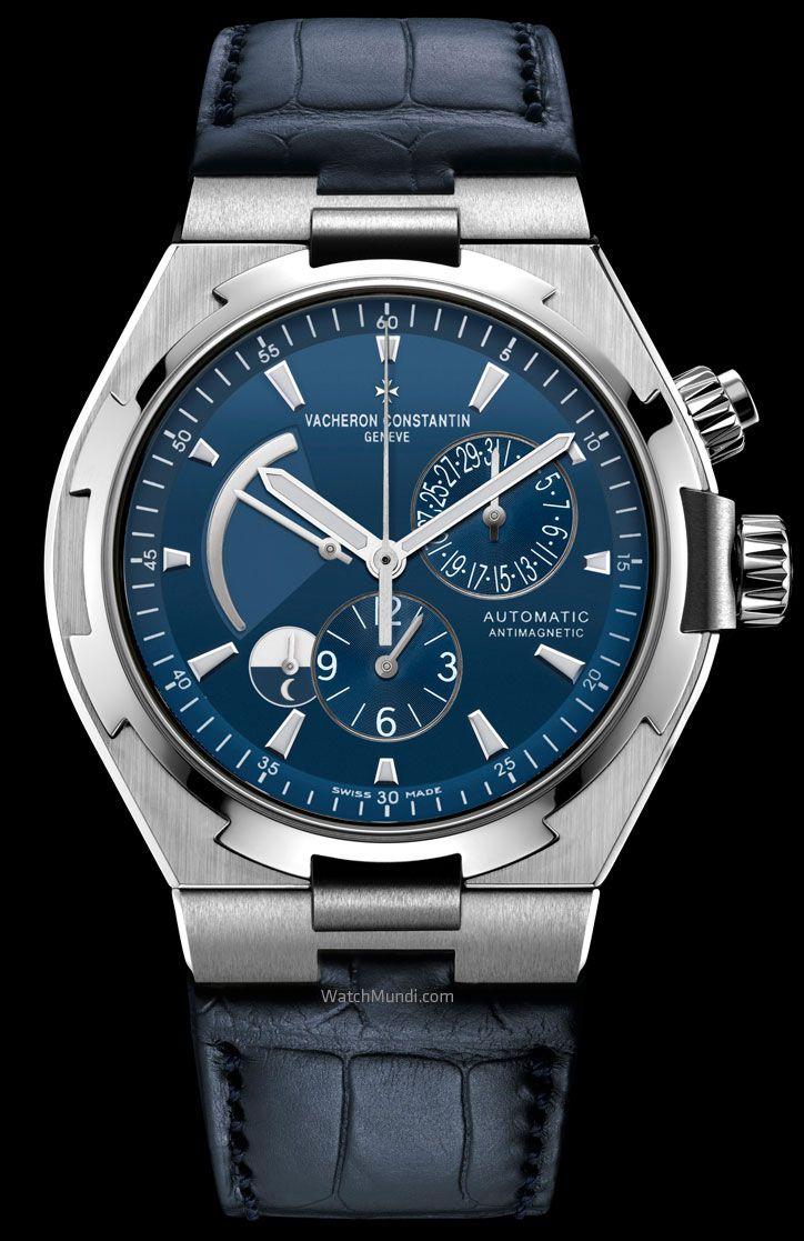 Vacheron Constantin – Overseas Ultramarine Blue Limited Edition - Dual Time.