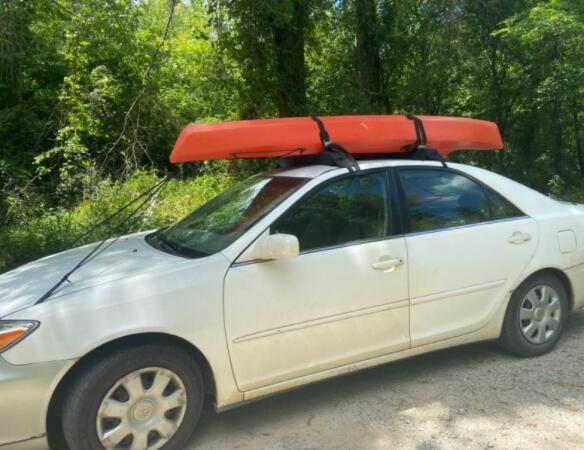 kayak carrying roof rack kayaking