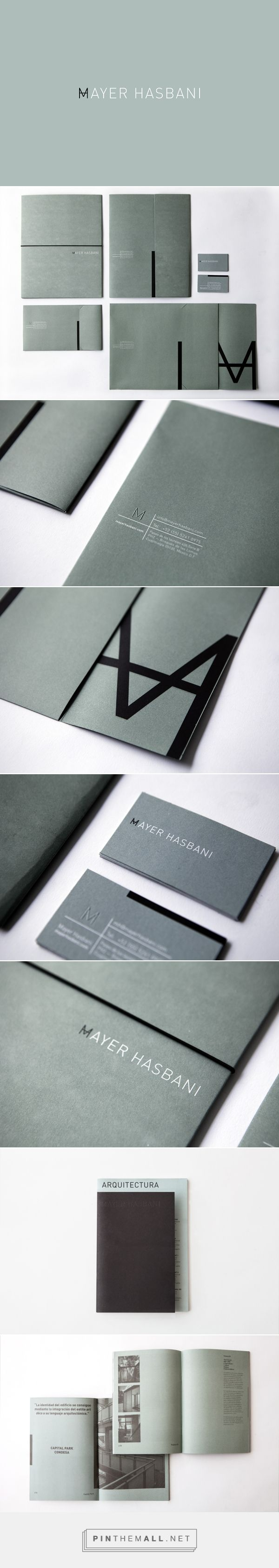 Mayer Hasbani Branding by Sociedad Anonima | Fivestar Branding – Design and Branding Agency & Inspiration Gallery